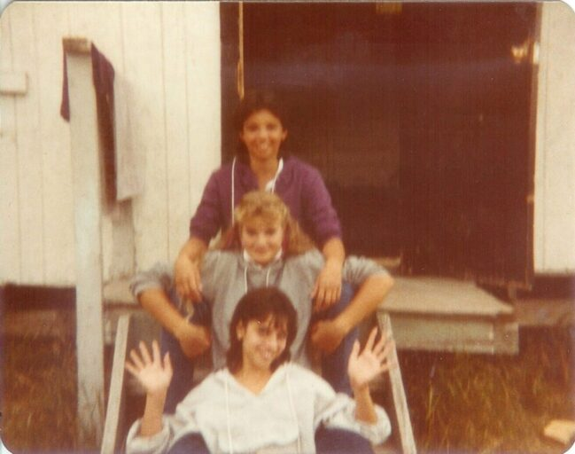 camp monhan campers in the 80's