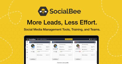 SocialBee More Leads, Less Effort