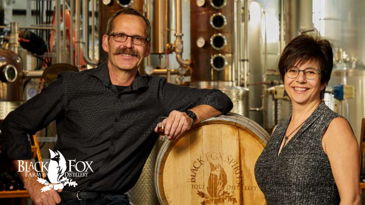 Ep. 74 with Barb Stefanyshyn-Cote from Black Fox Farm and Distillery